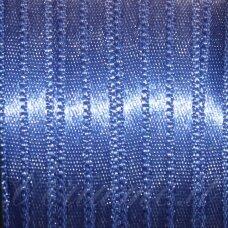 j0121 apie 10 mm, mėlyna spalva, atlasinė juostelė, 10 m.