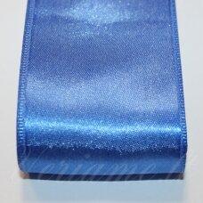 J0130 apie 20 mm, mėlyna spalva, atlasinė juostelė, 1 m.
