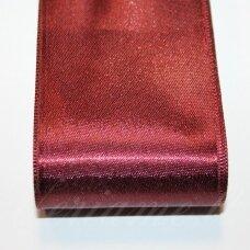 j0159 apie 10 mm, vyšninė spalva, atlasinė juostelė, 10 m.