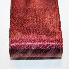 j0159 apie 20 mm, vyšninė spalva, atlasinė juostelė, 10 m.
