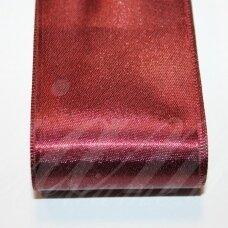 J0159 apie 5 mm, vyšninė spalva, atlasinė juostelė, 1 m.