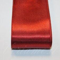 j0160 apie 30 mm, bordo spalva, atlasinė juostelė, 10 m.