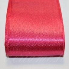 J0162 apie 20 mm, tamsi, rožinė spalva, atlasinė juostelė, 1 m.