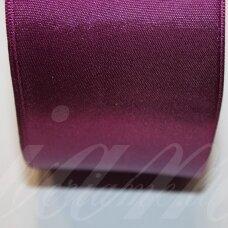 J0229 apie 5 mm, šviesi, violetinė spalva, atlasinė juostelė, 10 m.