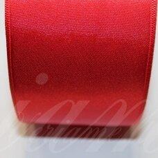 J0310 apie 38 mm, raudona spalva, atlasinė juostelė, 1 m.