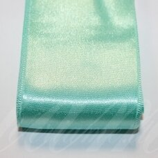 j0332 apie 30 mm, žalia, elektrinė spalva, atlasinė juostelė, 1 m.