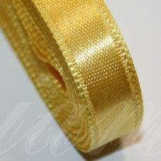 j0350 apie 66 mm, geltona spalva, atlasinė juostelė, 1 m.