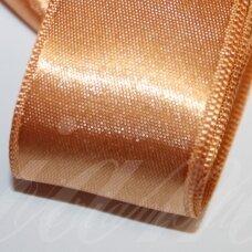 j0360 apie 15 mm, oranžinė spalva, atlasinė juostelė, 10 m.