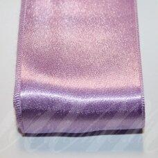 j0492 apie 50 mm, violetinė spalva, atlasinė juostelė, 10 m.