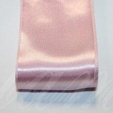 j0510 apie 50 mm, šviesi, rožinė spalva, atlasinė juostelė, 1 m.
