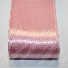 j0511 apie 50 mm, rožinė spalva, atlasinė juostelė, 1 m.