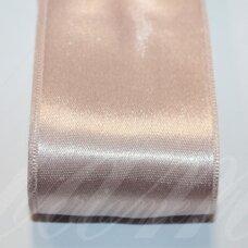 j0640 apie 50 mm, šviesi, rožinė spalva, atlasinė juostelė, 10 m.
