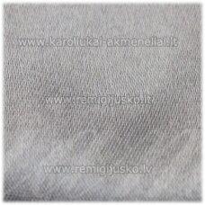 j0811 apie 50 mm, pilka spalva, atlasinė juostelė, 1 m.