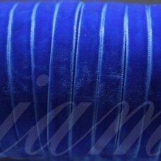 jak5003-05 apie 5 mm, mėlyna spalva, aksominė juostelė, 1 m.