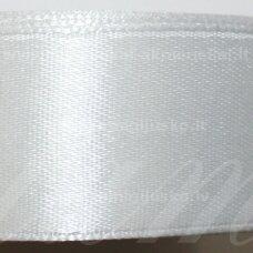 jl0001 apie 100 mm, balta spalva, atlasinė juostelė, 1 m.