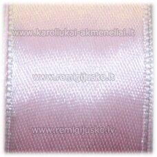 jl0004 apie 25 mm, rožinė spalva, atlasinė juostelė, 25 m.