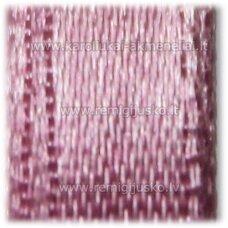 jl0045 apie 6 mm, rožinė spalva, atlasinė juostelė, 25 m.