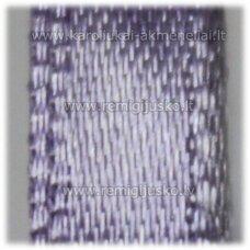 jl0081 apie 6 mm, violetinė spalva, atlasinė juostelė, 25 m.