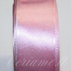 JL0138 apie 13 mm, rožinė spalva, atlasinė juostelė, 1 m.