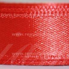 jl0514 apie 13 mm, raudona spalva, atlasinė juostelė, 1 m.