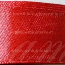jl0515 about 50 mm, red color, satin ribbon, 25 m.