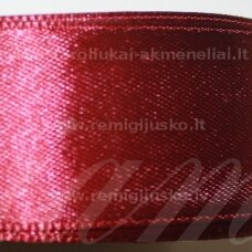 jl0519 apie 13 mm, bordo spalva, atlasinė juostelė, 1 m.