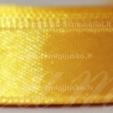 jl0526 about 50 mm, yellow color, satin ribbon, 1 m.