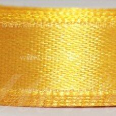 JL0527 apie 100 mm, geltona spalva, atlasinė juostelė, 1 m.