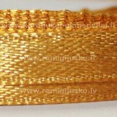 jl0528 apie 25 mm, auksinė spalva, atlasinė juostelė, 25 m.