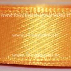 JL0530 apie 25 mm, šviesi, oranžinė spalva, atlasinė juostelė, 25 m.