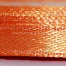jl0531 apie 13 mm, oranžinė spalva, atlasinė juostelė, 25 m.