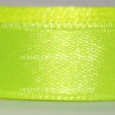 jl0549 apie 13 mm, ryški, salotinė spalva, atlasinė juostelė, 25 m.