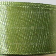 jl0550 apie 13 mm, chaki spalva, atlasinė juostelė, 25 m.