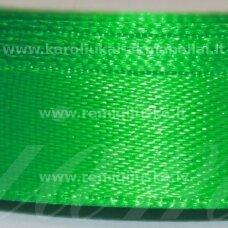 jl0554 apie 100 mm, žalia spalva, atlasinė juostelė, 1 m.