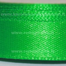 jl0554 apie 13 mm, žalia spalva, atlasinė juostelė, 25 m.