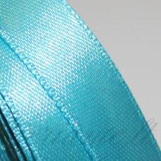 JL0566 apie 13 mm, šviesi, mėlyna spalva, atlasinė juostelė, 1 m.
