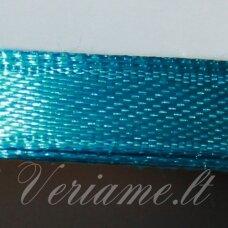 jl0569 apie 13 mm, mėlyna spalva, atlasinė juostelė, 25 m.