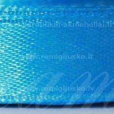 jl0570 about 50 mm, light blue color, satin ribbon, 25 m.