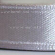 jl0603 apie 25 mm, pilka spalva, atlasinė juostelė, 1 m.