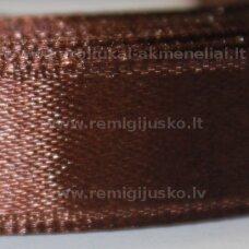 jl0620 apie 25 mm, ruda spalva, atlasinė juostelė, 1 m.