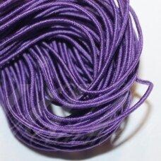 JM0002 apie 1 mm, violetinė spalva, guma, dengta medžiaga, apie 12 m.