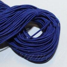 JM0004 apie 1 mm, mėlyna palva, guma, dengta medžiaga, apie 12 m.