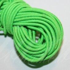 jm0008 apie 2 mm, salotinė spalva, guma, dengta medžiaga, apie 12m.