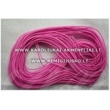 jm0169 about 1 mm, pink color, gum, coated material, about 12 m.