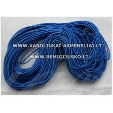 jm0172 about 1 mm, blue color, gum, coated material, about 12 m.