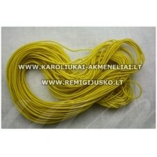 jm0174 about 1 mm, yellow color, gum, coated material, about 12 m.