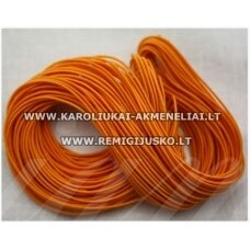 jm0175 about 1 mm, orange color, gum, coated material, about 12 m.