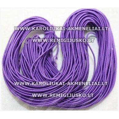 jm0170 apie 1 mm, violetinė spalva, guma, dengta medžiaga, apie 12 m.
