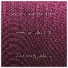 jor0017 apie 40 mm, tamsi, violetinė spalva, organzinė juostelė, apie 23 m.