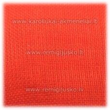jor0027 apie 40 mm, oranžinė spalva, organzinė juostelė, apie 23 m.
